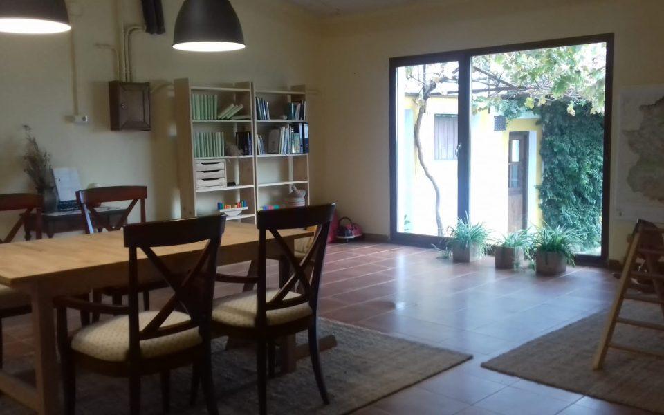 Area prepared for indoor activities of children