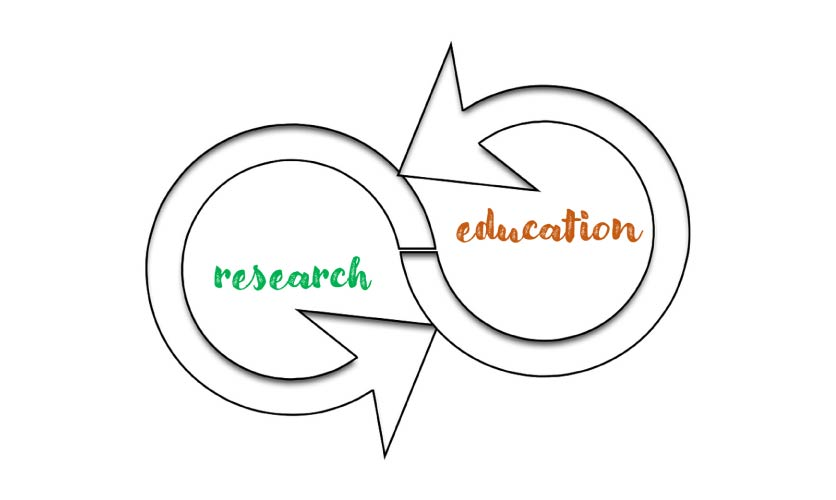 Education and research should maintain a permanent dynamic and reciprocal interaction that constantly promotes both research and education for the benefit of society. This is the aim of the association Aprisco de Las Corchuelas